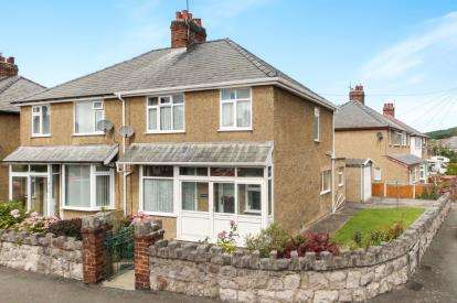 3 Bedrooms Semi Detached House for sale in Bryn Marl Road, Mochdre, Colwyn Bay, Conwy, LL28