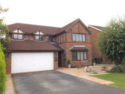 4 Bedrooms Detached House for sale in Fleetwith Close, West Bridgford, Nottingham, Nottinghamshire