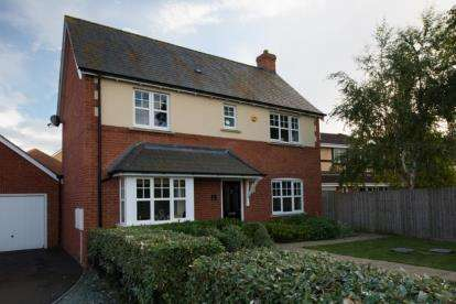 4 Bedrooms Detached House for sale in Watson Close, Northampton, Northamptonshire