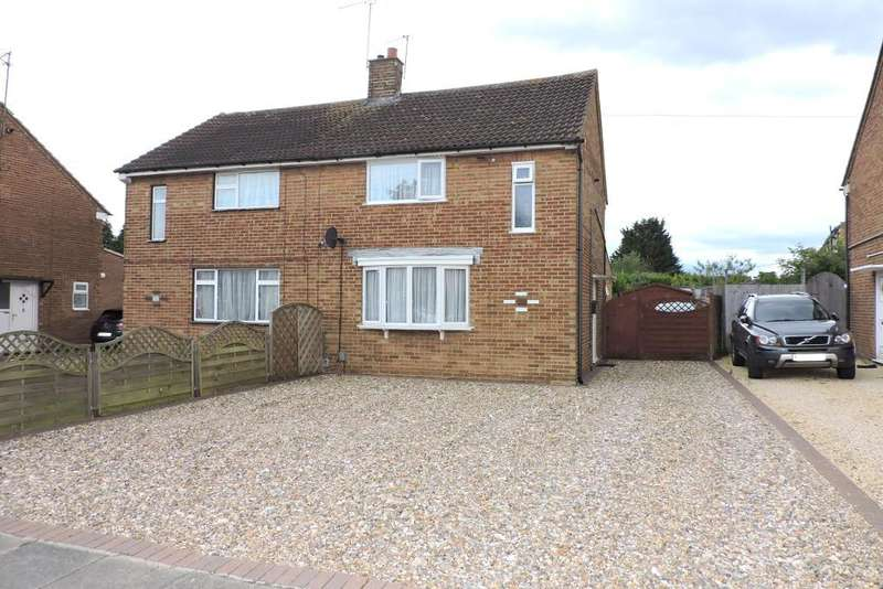 3 Bedrooms Semi Detached House for sale in Lalleford Road, Luton, Bedfordshire, LU2 9JQ