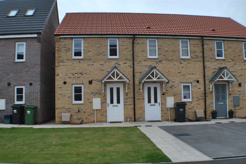 2 Bedrooms End Of Terrace House for sale in Hornbeam Close, Selby, YO8 8FS