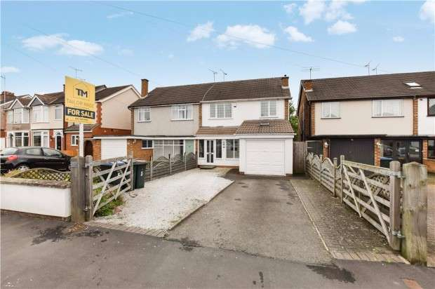 3 Bedrooms Semi Detached House for sale in Browns Lane, Allesley, Coventry, CV5