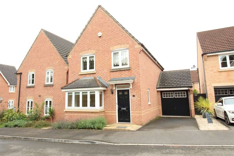 3 Bedrooms Detached House for sale in Priory Grove, Langstone, Newport, NP18