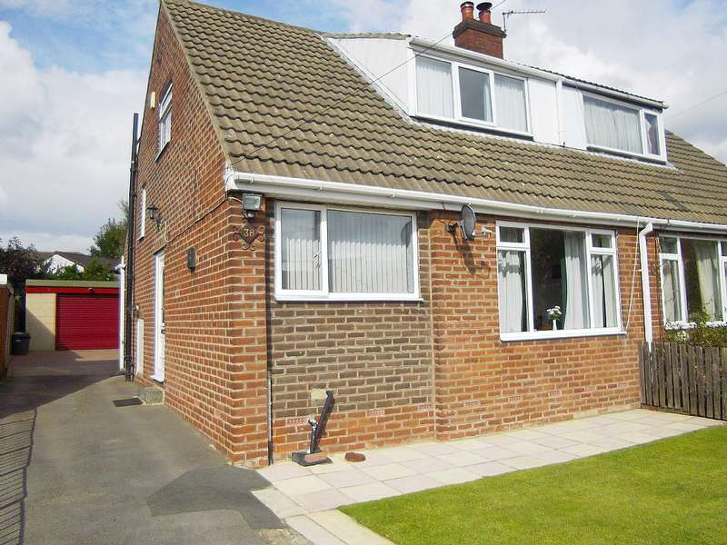 4 Bedrooms Semi Detached House for sale in Manor Park, Mirfield, West Yorkshire, WF14 0EP