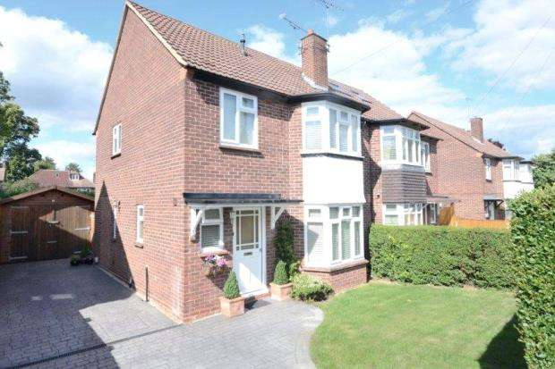 3 Bedrooms Semi Detached House for sale in Shirley Road, Maidenhead, Berkshire