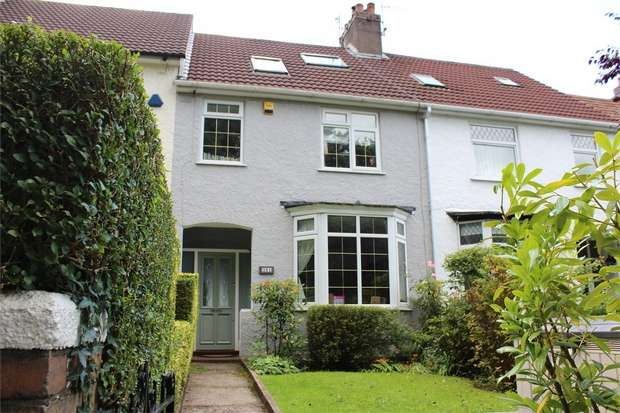 4 Bedrooms Terraced House for sale in Fairwater Road, Llandaff, Cardiff, South Glamorgan