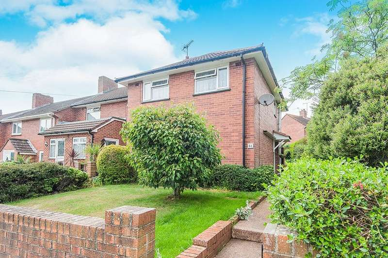3 Bedrooms Semi Detached House for sale in Whipton Barton Road, Exeter, EX1