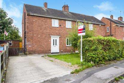 2 Bedrooms Semi Detached House for sale in Chaucer Crescent, Sutton-In-Ashfield, Nottinghamshire, Notts