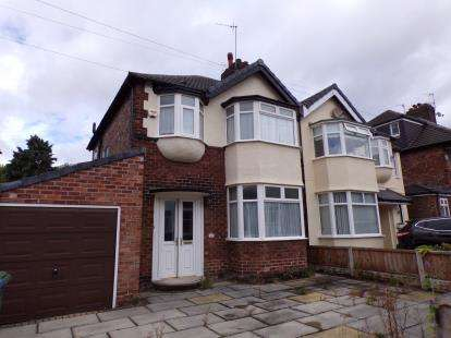 3 Bedrooms Semi Detached House for sale in Chalfont Road, Calderstones, Liverpool, Merseyside, L18