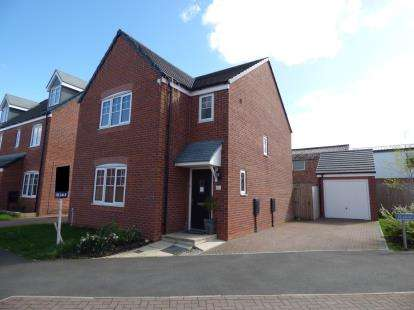 3 Bedrooms Detached House for sale in Walnutwood Avenue, Bamber Bridge, Preston, Lancashire, PR5