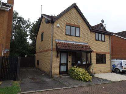 2 Bedrooms Semi Detached House for sale in Glemsford Rise, Peterborough, Cambridgeshire