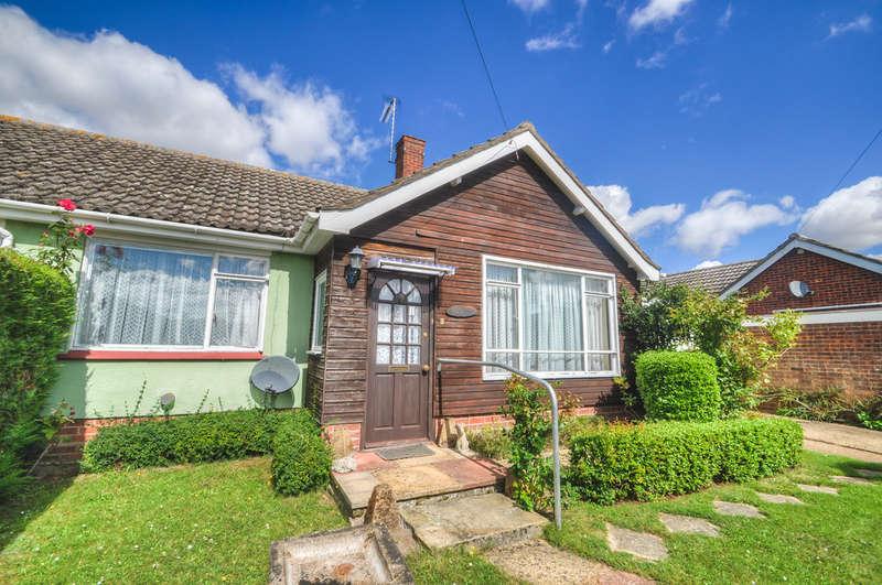 2 Bedrooms Semi Detached Bungalow for sale in Oak Way, Halesworth