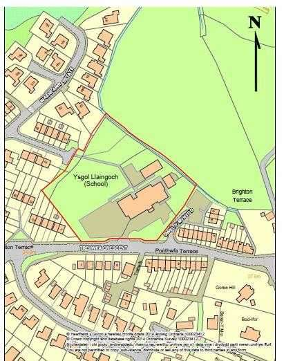 Land Commercial for sale in Ysgol Llaingoch, Holyhead