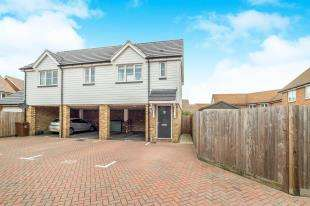 2 Bedrooms Maisonette Flat for sale in Spire Way, Wainscott, Rochester, Kent