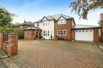 5 Bedrooms Detached House for sale in Abbotts Lane, Penyffordd, Chester, Flintshire, CH4