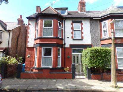 5 Bedrooms Semi Detached House for sale in Caldy Road, Walton, Liverpool, Merseyside, L9