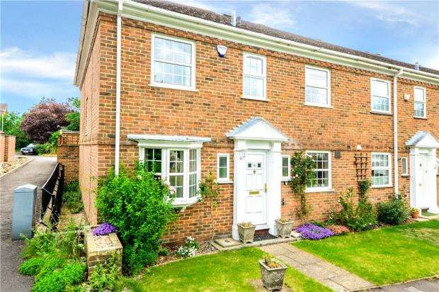 4 Bedrooms End Of Terrace House for sale in Benyon Court, Bath Road, Reading