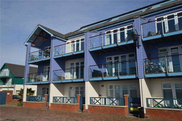 1 Bedroom Flat for sale in Madison Wharf, Shelly Road, Exmouth, Devon