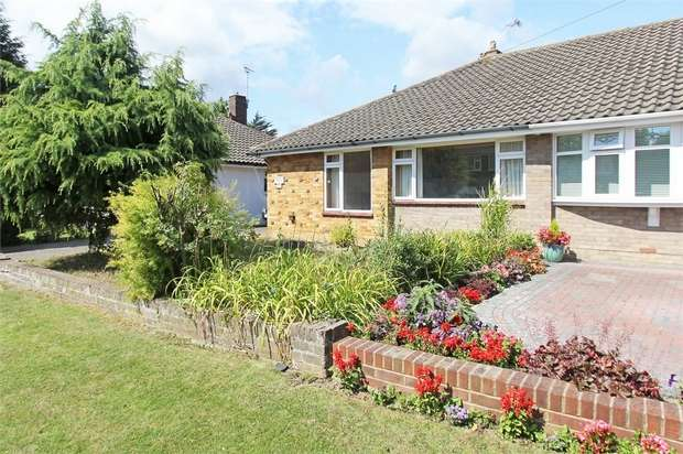 3 Bedrooms Semi Detached Bungalow for sale in Windsor Drive, Sittingbourne, Kent