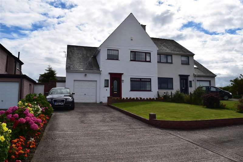 4 Bedrooms Semi Detached House for sale in Seaton Road, Seaton, Workington