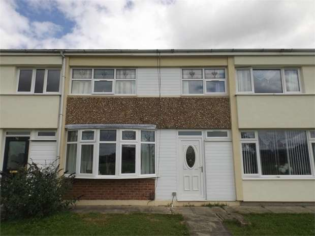 3 Bedrooms Terraced House for sale in Melsonby Crescent, Darlington, Durham