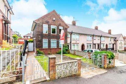 3 Bedrooms End Of Terrace House for sale in Barrie Road, Parson Cross, Sheffield