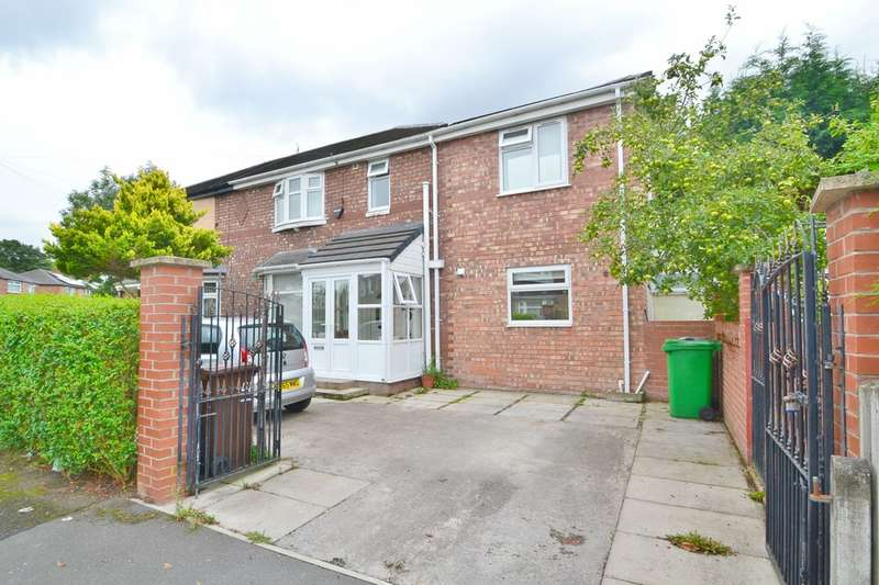 4 Bedrooms Semi Detached House for sale in Overlea Drive, Burnage