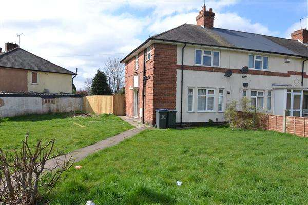 3 Bedrooms Semi Detached House for sale in Parkeston Crescent, Kingstanding, Birmingham
