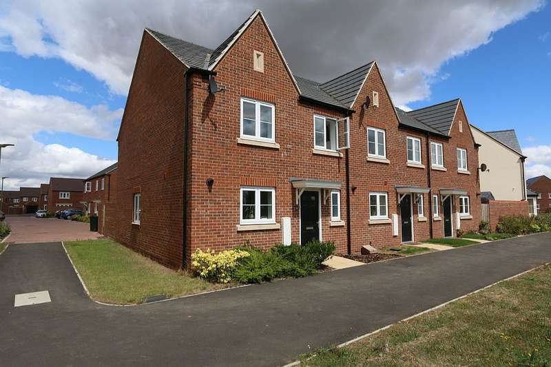 4 Bedrooms End Of Terrace House for sale in Bourne End, Upper Heyford, Bicester, Oxfordshire, OX25 5AE