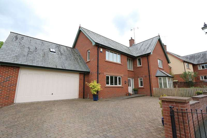 4 Bedrooms Detached House for sale in 6, St. Cuthberts Place, Penrith, Cumbria, CA11 8SP