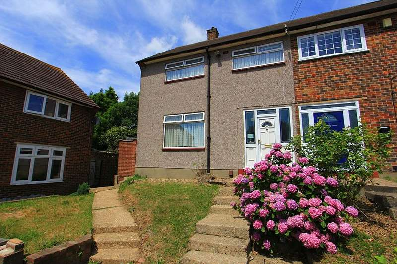 3 Bedrooms End Of Terrace House for sale in Dunstable Close, Romford, London, RM3 8JD