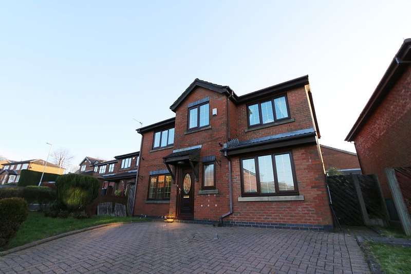 4 Bedrooms Detached House for sale in Hillspring Road, Springhead, Oldham, Greater Manchester, OL4 4SJ