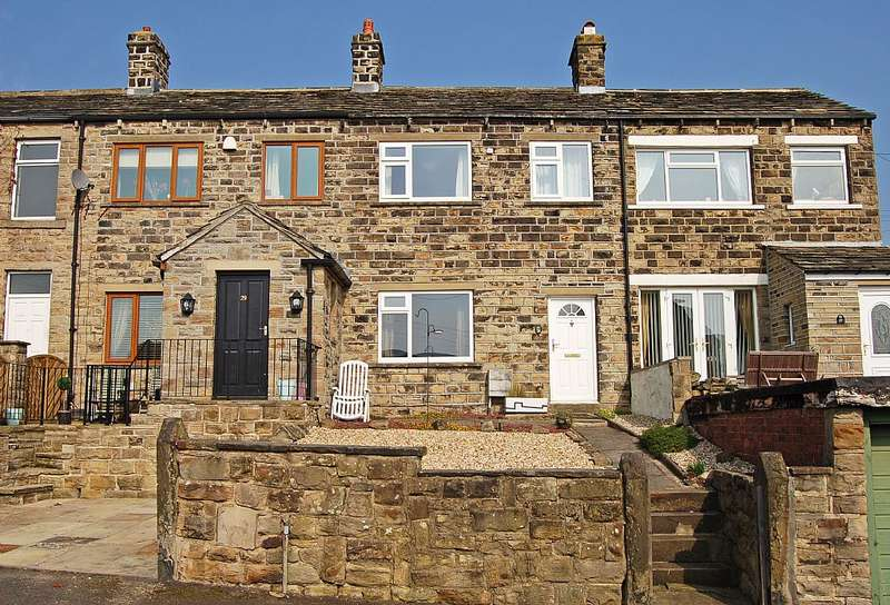2 Bedrooms Terraced House for sale in Littlethorpe Hill, Hartshead, Liversedge, West Yorkshire, WF15 8AZ