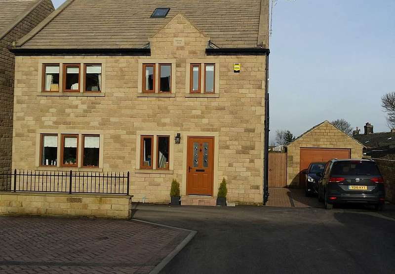 5 Bedrooms Detached House for sale in 11, The Pastures, Shelf Halifax, West Yorkshire, HX3 7UE