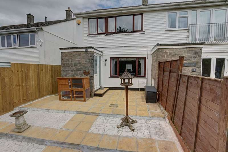 3 Bedrooms Semi Detached House for sale in Pen Tye, Gwinear, Hayle, Cornwall, TR27 5HL