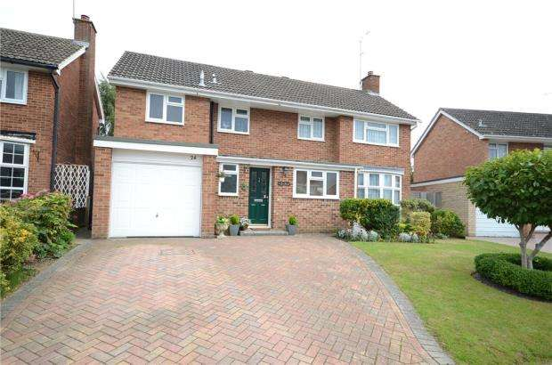 4 Bedrooms Detached House for sale in Bean Oak Road, Wokingham, Berkshire