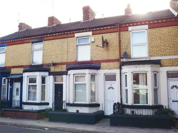 2 Bedrooms Terraced House for sale in Derby Road, Birkenhead, Merseyside