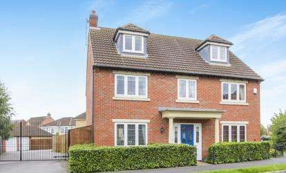 5 Bedrooms Detached House for sale in Lady Hay Road, Leicester, Leicestershire