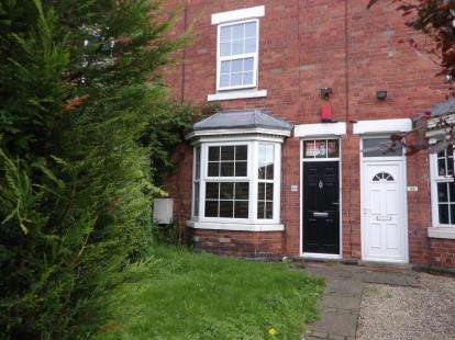 3 Bedrooms Terraced House for sale in Egypt Road, Basford, Nottinghamshire