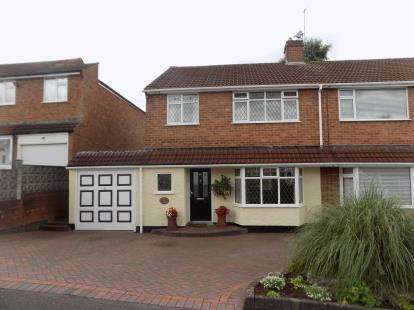 3 Bedrooms Semi Detached House for sale in Cherrywood Road, Sutton Coldfield, West Midlands
