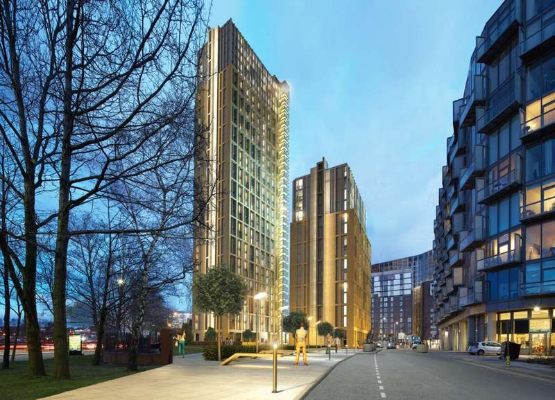 2 Bedrooms Apartment Flat for sale in Greengate, Manchester, M3