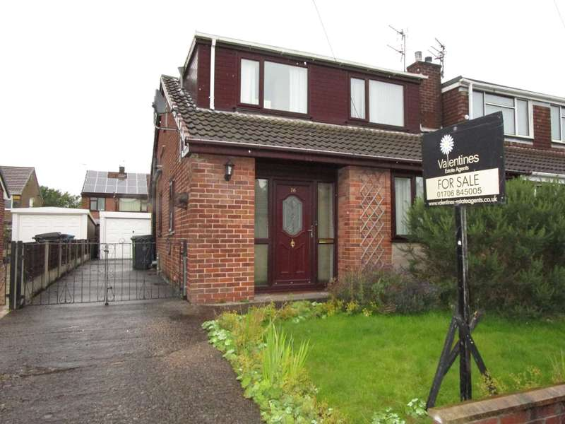 3 Bedrooms Semi Detached House for sale in Balmoral Avenue, Royton