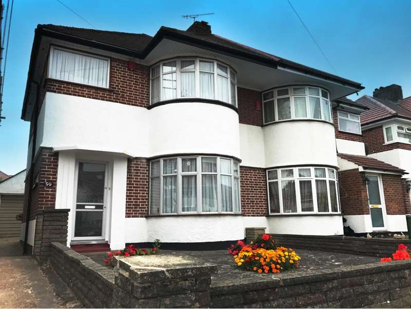 3 Bedrooms Semi Detached House for sale in St Edmunds Drive, Stanmore, STANMORE