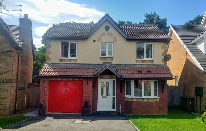 4 Bedrooms Detached House for sale in Dan Y Deri, Bedwas, Caerphilly