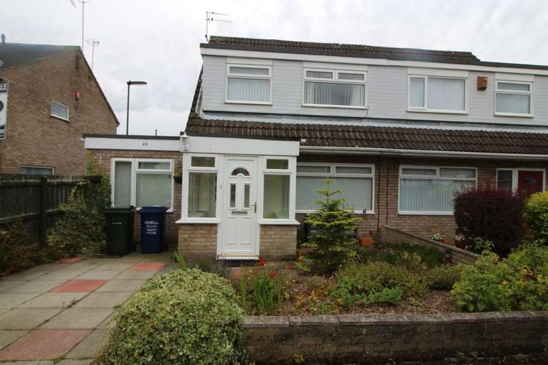 3 Bedrooms Semi Detached House for sale in Hereford Court, Newcastle Upon Tyne, NE3