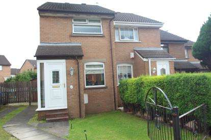 2 Bedrooms End Of Terrace House for sale in Hogarth Gardens, Glasgow