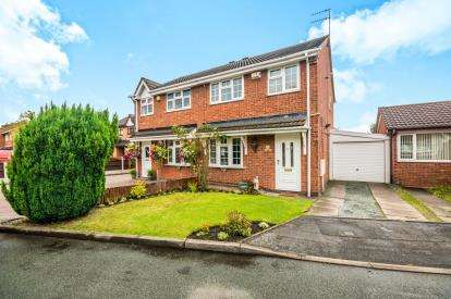 3 Bedrooms Semi Detached House for sale in Keasden Grove, Willenhall, West Midlands