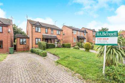 2 Bedrooms End Of Terrace House for sale in Windrush Close, East Worcester, Worcester, Worcestershire