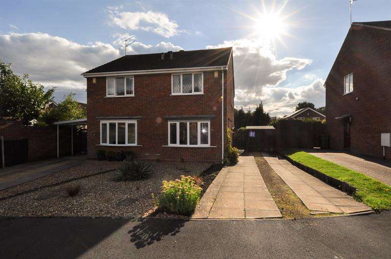 2 Bedrooms Semi Detached House for sale in Illshaw Close, Winyates Green, Redditch