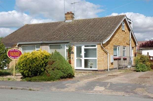 2 Bedrooms Semi Detached Bungalow for sale in Pytchley View, Moulton, Northampton NN3 7UQ